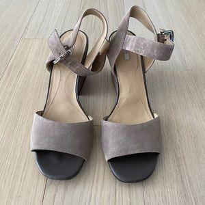 Geox Marilyn Suede Sandals